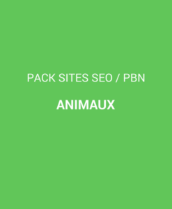 pack sites animaux