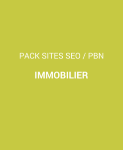pack sites immobilier